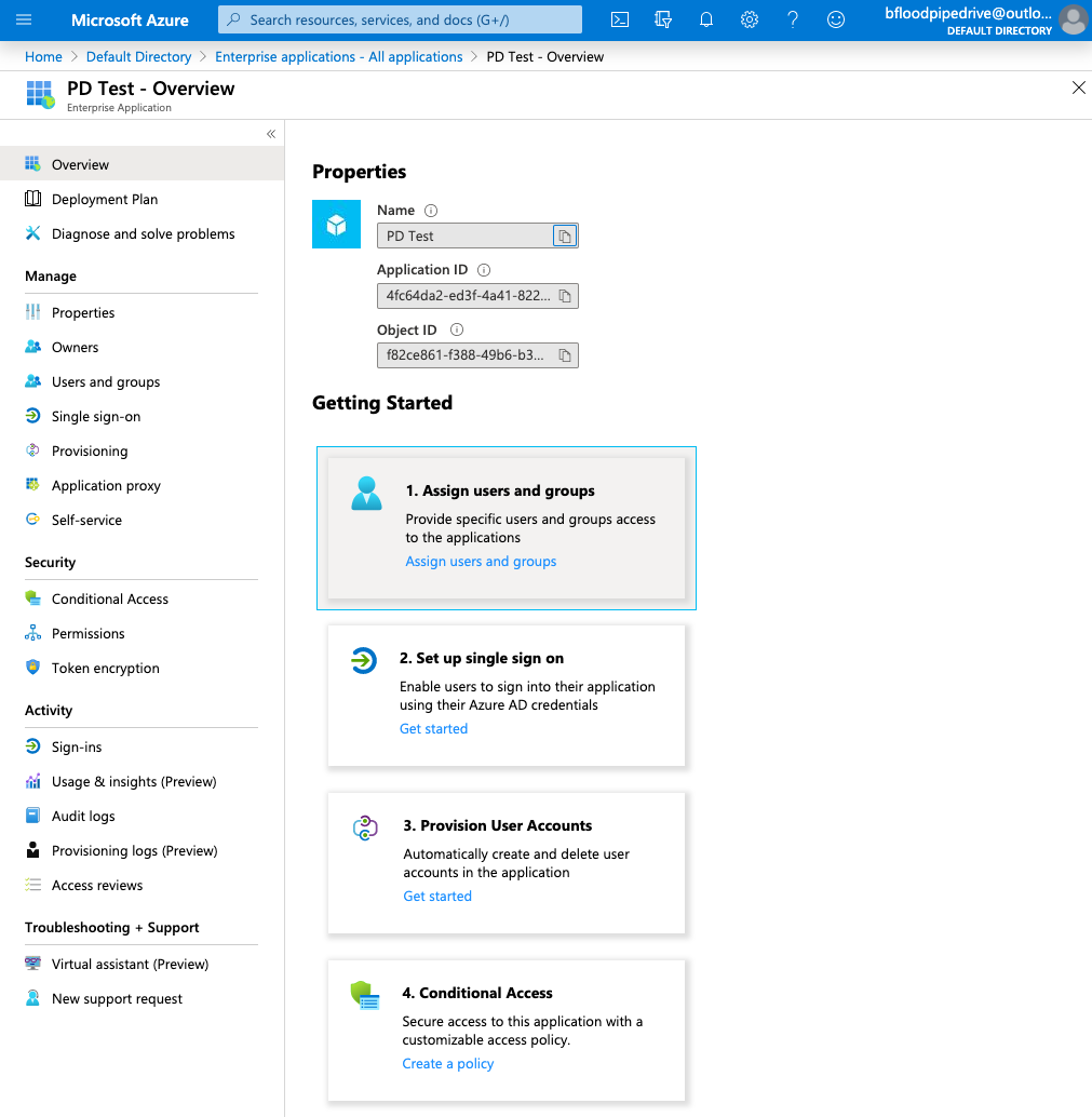 Azure getting started