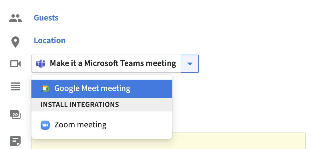 google meet meeting