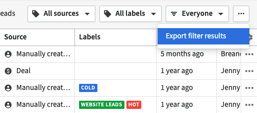 export leads